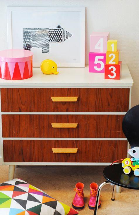 stylish and fab kids room