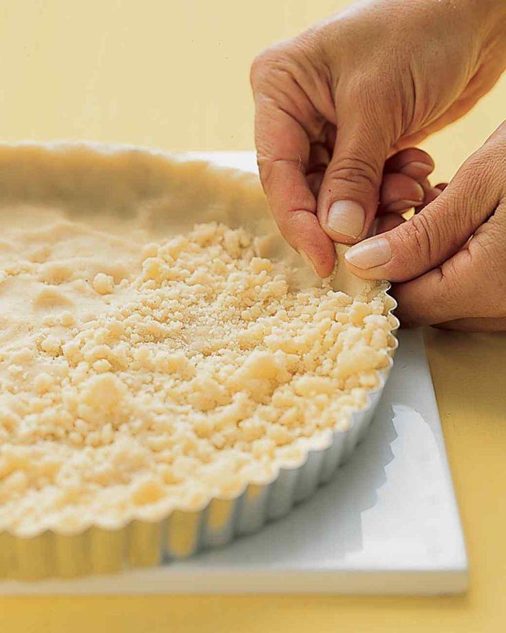 Short bread pie crust