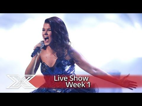 Saara proves her Snow Fairy credentials with Let it Go! | Live Shows Week 1 | The X Factor UK 2016