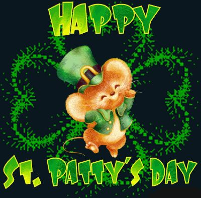 Happy St Pattys Day & HAPPY WEEKEND TO YOU ALL