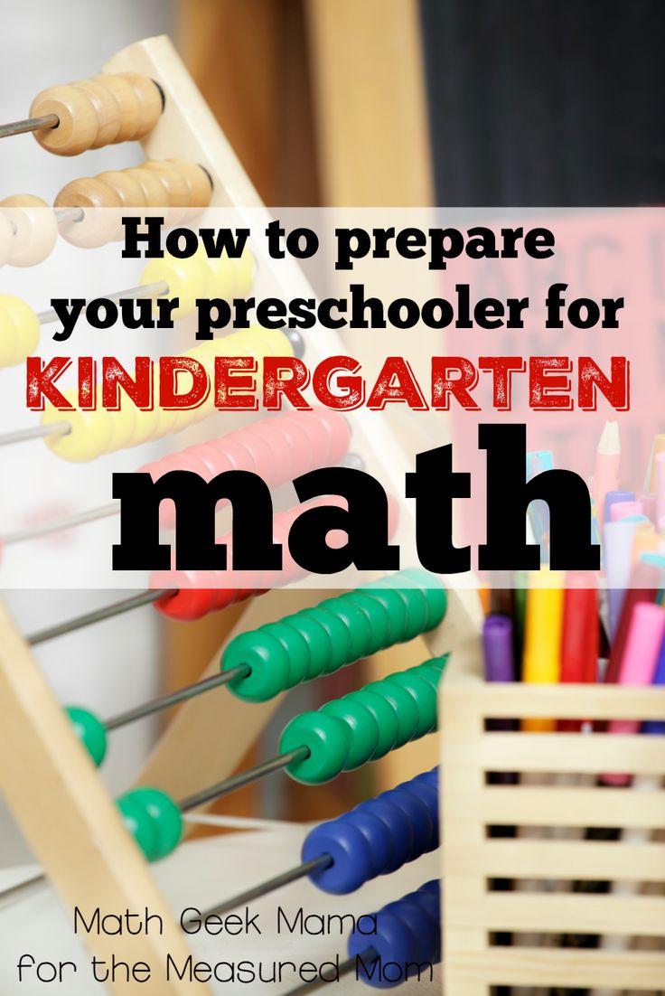 How To Prepare Your Preschooler For Kindergarten Math