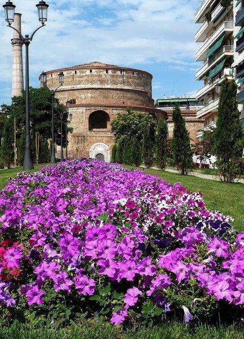 """Thessaloniki, Greece - """"Rotunda"""", Roman monument."""