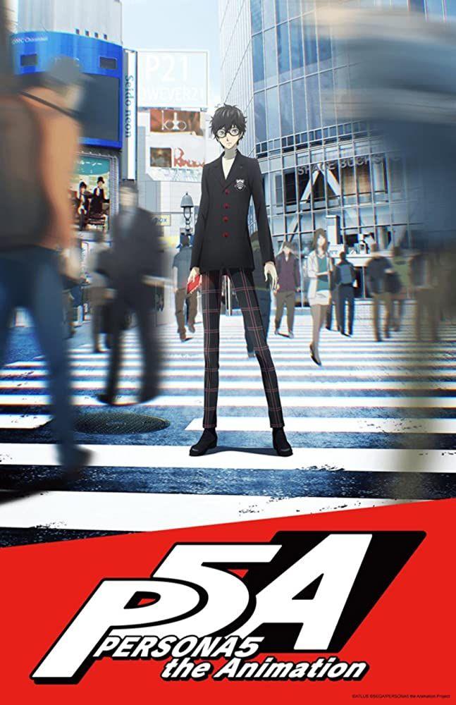 شاهد انمي Persona 5 The Animation الحلقة 1 زي مابدك فيديو ايموش Persona 5 Persona 5 Anime Persona
