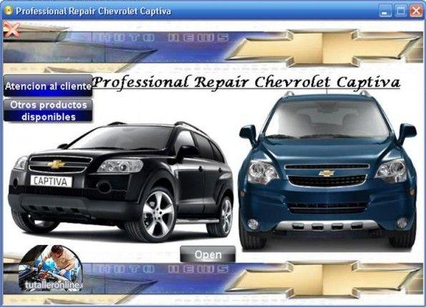 Manual De Taller Chevrolet Captiva Y Captiva Sport 2009 2011