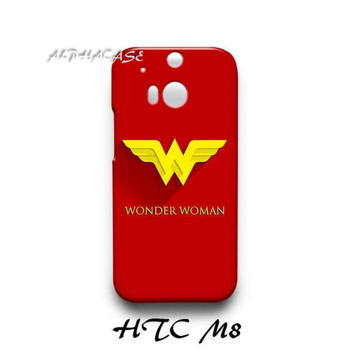 Wonder Woman Superhero HTC M8 Hardshell Case