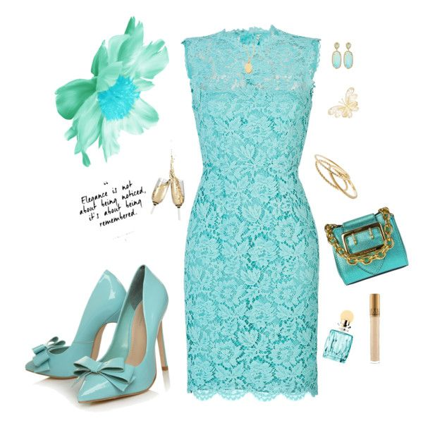 Elegance  and chic Tiffany blue by Diva of Cake  featuring polyvore, fashion, style, Valentino, Carvela Kurt Geiger, Burberry, J.Crew, Kendra Scott, Roberto Coin and Miu Miu