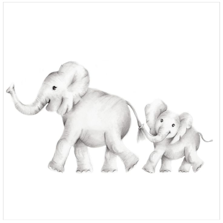This cute Mommy and Baby duo are a print of Nicky's original pencil drawing. Sizes: 8.5 x 11, 11 x 14 and 16 x 20. Please make your selection from the drop-down menu at checkout. Paper: The elephants