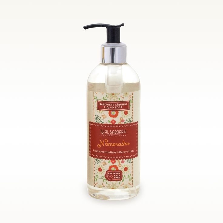 300ml Sabonete Líquido   Liquid Soap NAMORADOS