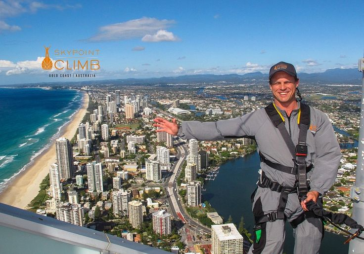 Facing Fear on the SkyPoint Climb - things to do on the Gold Coast