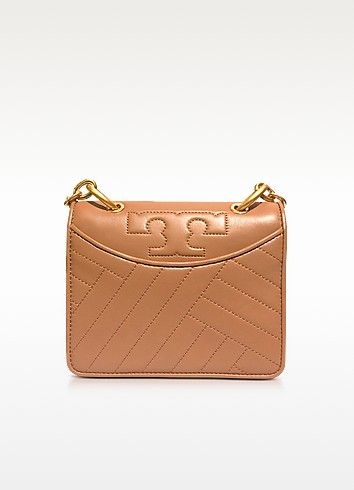 0e0b70c45899 TORY BURCH Alexa Aged Vachetta Leather Mini Shoulder Bag.  toryburch  bags  shoulder  bags  hand bags  canvas  leather  lining