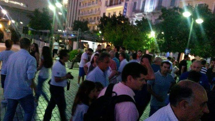 Πάτρα: Στην Πλατεία Τριών Συμμάχων η συγκέντρωση του «ΝΑΙ» (ΔΕΙΤΕ ΦΩΤΟ) | Patratora news – Τα νέα απο την Πάτρα τώρα