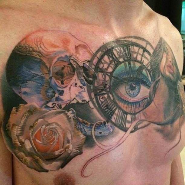 Tattoo Woman Eyes: 24 Best Woman Eye Tattoos Images On Pinterest