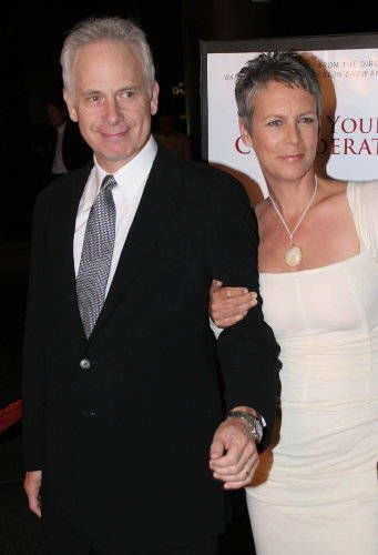 jamie lee curtis and christopher guest -married  in 1984.