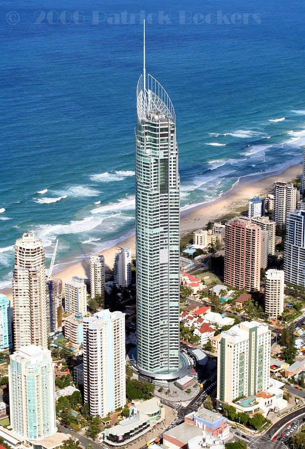 Q1 Tower (322.5m 78fl, 2005) Gold Coast City, Australia