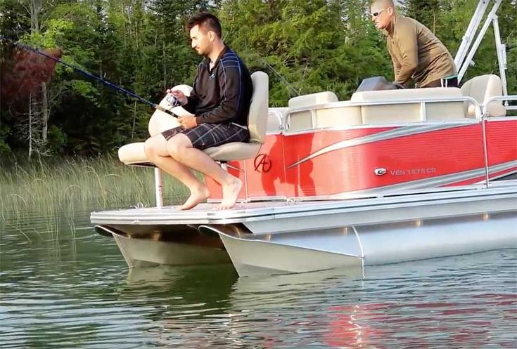 Click Here Some Ideas On A Pontoon Boat Fishing Setup