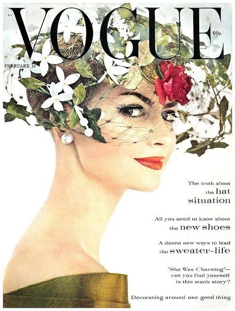 Vogue Cover feb 1960 Katherine Pastrie Irving Penn | Flickr: partage de photos!