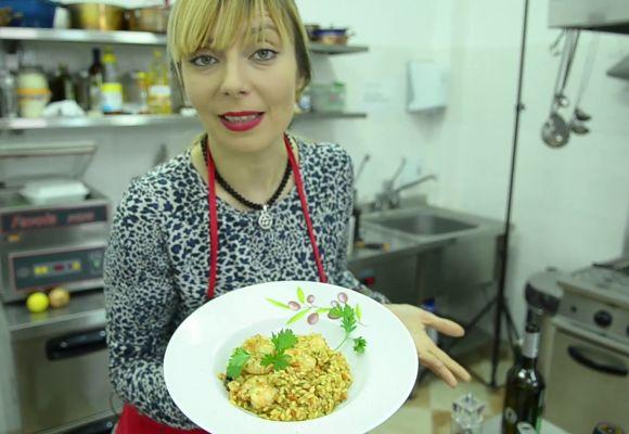 Video: Risotto ai frutti di mare după reţeta Roxanei Iliescu