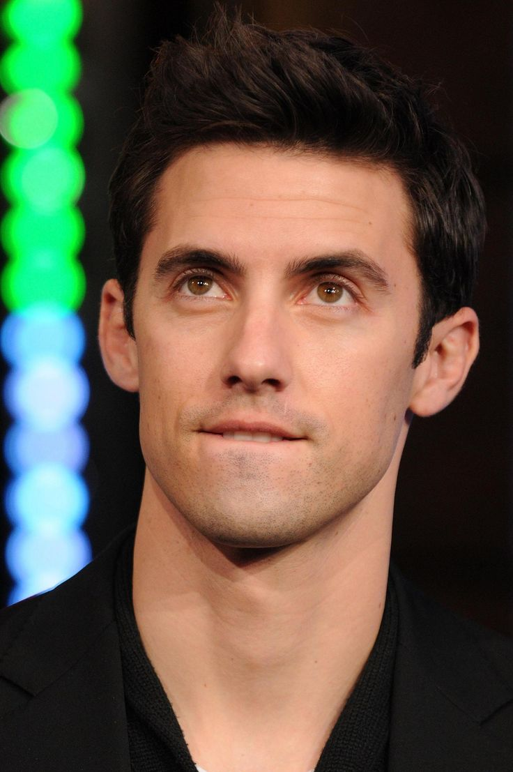 milo ventimiglia.  something about biting that lip...very 50 shades