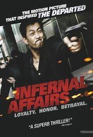 "Infernal Affairs (Chinese) American movie ""The Departed"" was a remake of this."