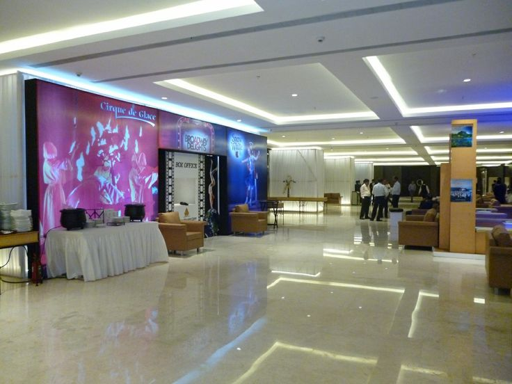 ENTRANCE LOUNGE, CONFERENCE HALL