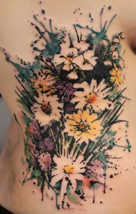 gorgeous wildflowers | http://awesome-tattoo-pics.blogspot.com