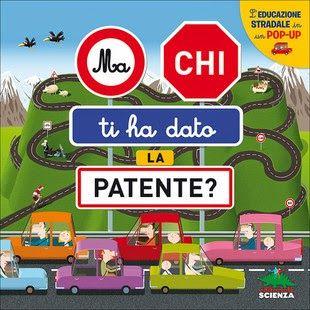 Libro - gioco sulla sicurezza stradale, con quiz, pop up, pagine interattive