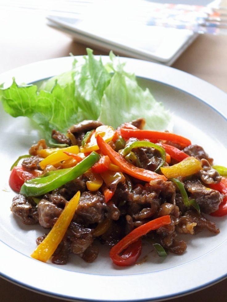 ご飯もりもり!牛肉とパプリカのカラフルオイマヨ炒め by 横田 尋香/ひなちゅん 「写真がきれい」×「つくりやすい」×「美味しい」お料理と出会えるレシピサイト「Nadia   ナディア」プロの料理を無料で検索。実用的な節約簡単レシピからおもてなしレシピまで。有名レシピブロガーの料理動画も満載!お気に入りのレシピが保存できるSNS。