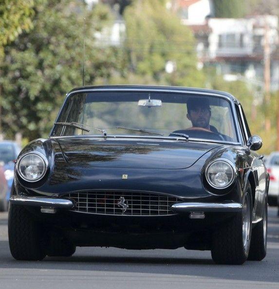Adam Levine Cruising Around Hollywood In His Black Ferrari