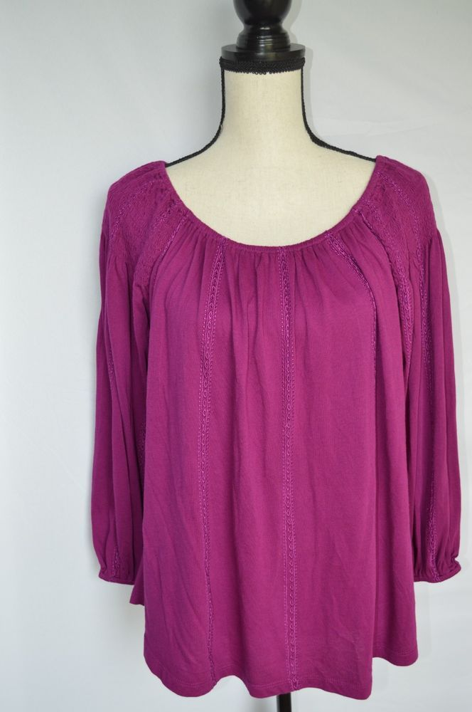 36acf3469c Lauren Ralph Lauren Top Size Small Purple Top NWT Retail  79.50  fashion   clothing  shoes  accessories  womensclothing  tops (ebay link)