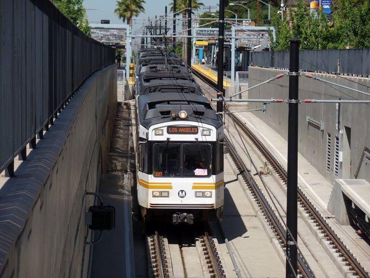 Expo Line - Los Angeles & 151 best Light Rail images on Pinterest   Light rail Metro ... azcodes.com