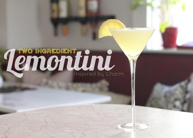 Two Ingredient Lemontini