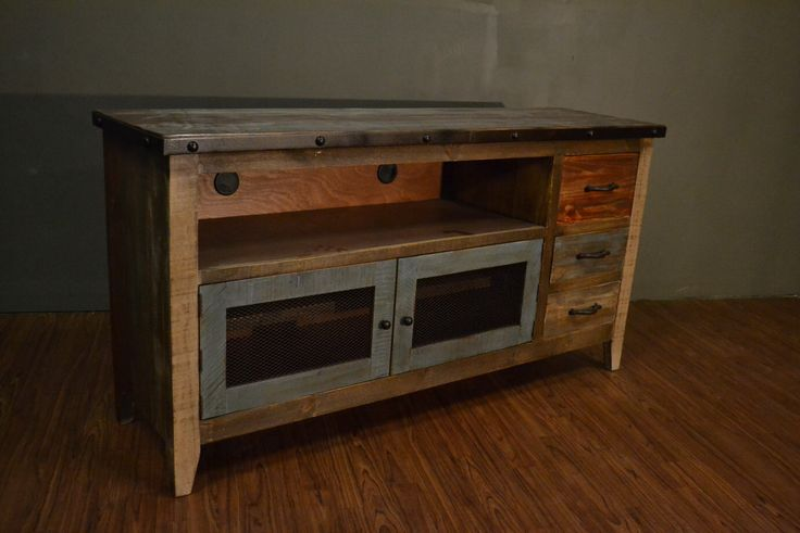 17 best ideas about reclaimed wood tv stand on pinterest tv table stand rustic tv stands and - Reclaimed wood tv stand ideas ...