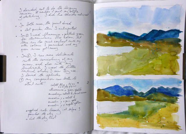 MHBD's Blog: Watercolour landscape