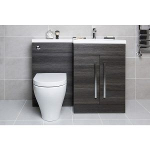 White Combination Vanity Units For Bathrooms