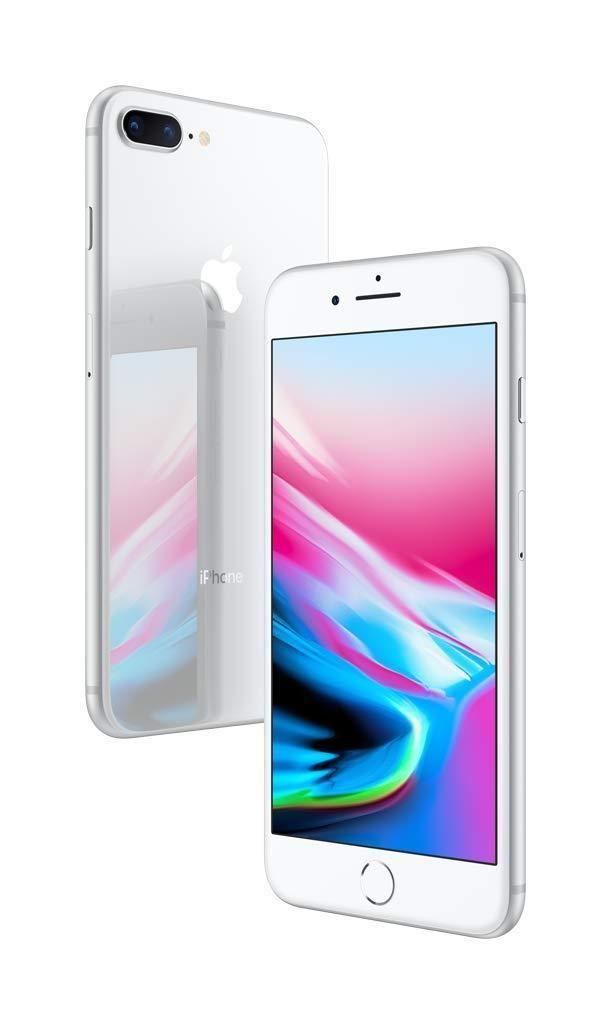 Apple iPhone 8 Plus (256 GB) Silver Smartphone apple