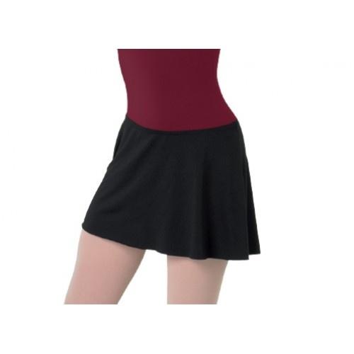 Bloch Sunshine Ladies Skirt  Ladies' flip skirt  Fabric: 89% polyester, 11% spandex  Colour: Black  Price: 19.00€