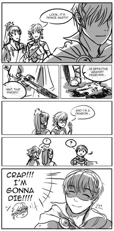 Fire Emblem: if/Fates -  Takumi x Kamui x Marth