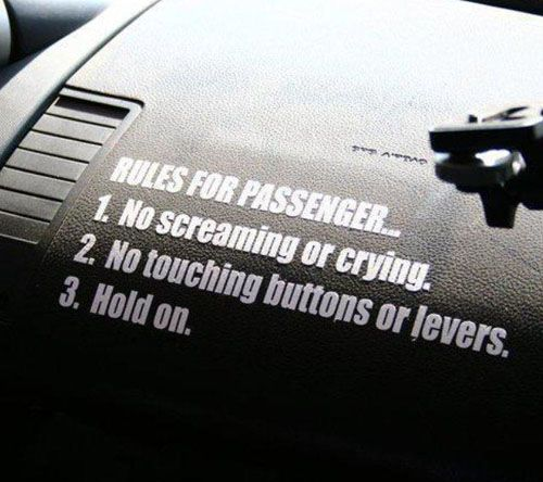 Rules for Passenger Sticker Decal for JDM Race Drift s13 s14 S15 180sx Car | eBay