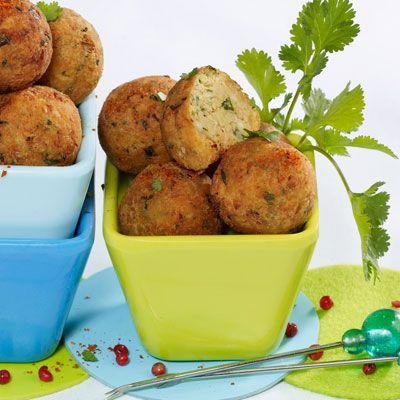 Découvrez la recette Fallafels sur cuisineactuelle.fr.