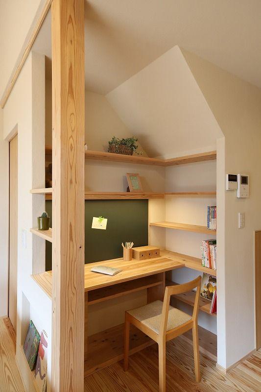 平屋 work space.