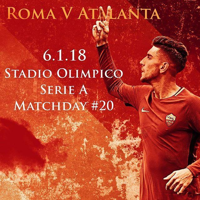 #MatchDay: manca poco a #RomaAtalanta! Qual è il vostro pronostico per la partita? *** It's matchday - what is your prediction for today's game? 🔶🔴 *** Follow @officialasroma on Instagram *** #ASRoma #Roma #Pellegrini #infographic #dajeroma #forzaroma