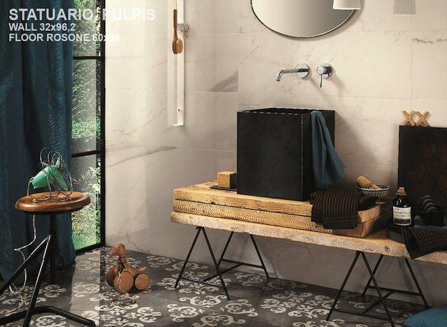 White Experience #naturalstone #tiles #digitalprint #character #timeless #odinceramics