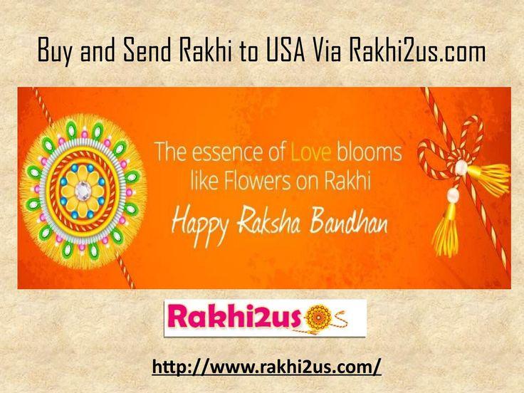 Online Rakhi Delivery in USA - +91 8510934032