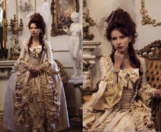 Milianda Duchess - Handmade Robe à La Française - Robe à la française