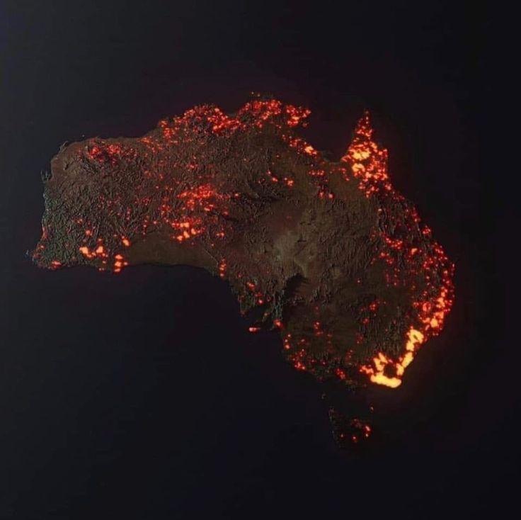 Misinterpreted or misleading fire maps en 2020 Koala
