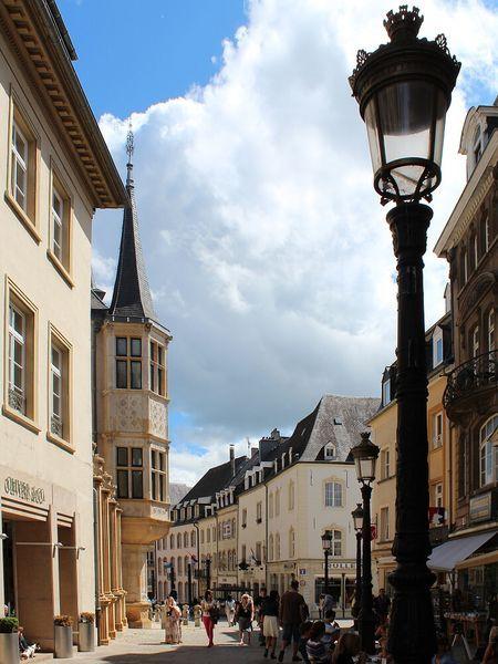 Lucembursko, Lucemburk, staré město