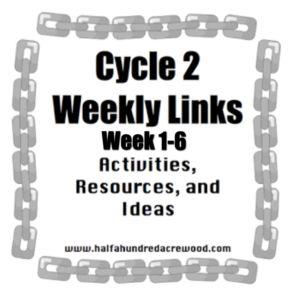 Cycle 2 Weekly Links: Weeks 1-6