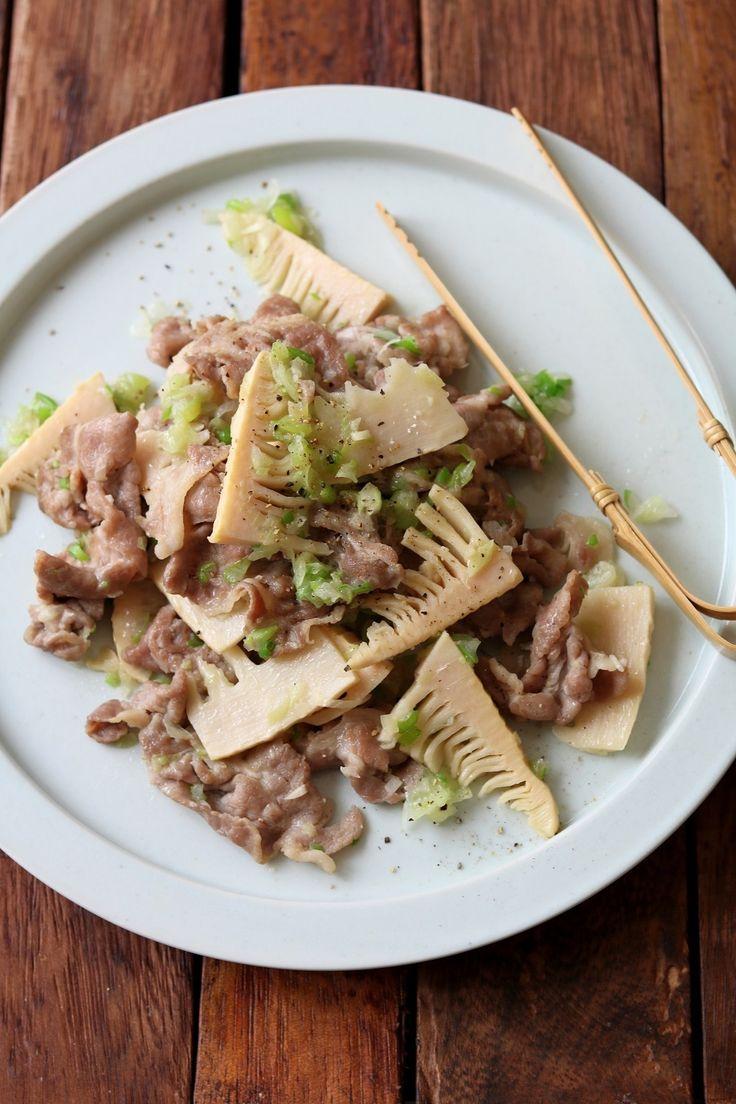 豚と筍のねぎ塩炒め。 by 栁川かおり   レシピサイト「Nadia   ナディア」プロの料理を無料で検索