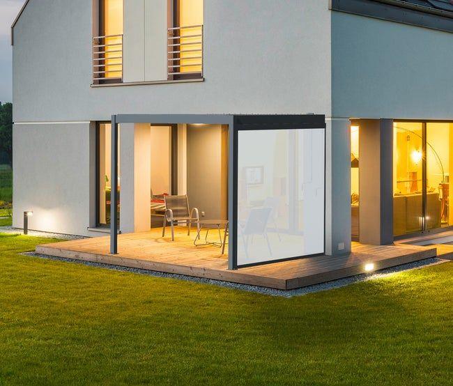 Store Lateral Pvc Cadix Gris Mural L 288 Cm Leroy Merlin En 2020 Cadix Maison Style Pvc