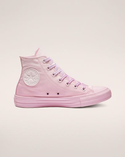 ae6ac357f00 Chuck Taylor All Star Dip Dye High Top Pink Foam Pink Rise Pink Rise